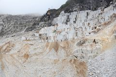 Marble quarry Royalty Free Stock Photos