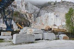 Marble quarry, Carrara Royalty Free Stock Photos