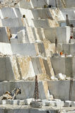 Marble quarry in Carrara White Italy Royalty Free Stock Image
