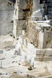 Marble quarry in Carrara White Italy Royalty Free Stock Photo