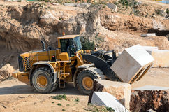 Marble quarry Industrial Stock Photography