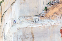 Marble quarry Industrial Stock Images