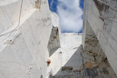 Marble quarry 4 Royalty Free Stock Images