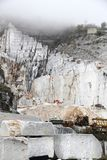 Marble quarry, Italy Stock Photography