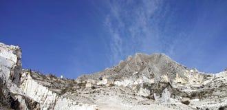 marble quarry  in marina di carrara Stock Photo