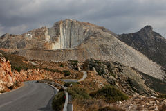 Marble Quarry, Naxos, Greece Stock Photography