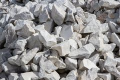 Marble quarry, stone texture, Stone Quarrying Stock Images