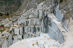 Marble Quarry, Tuskany Royalty Free Stock Image