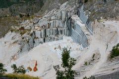 Marble Quarry, Tuskany Royalty Free Stock Photography
