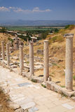Marble Road Ephesus Turkey Royalty Free Stock Photos