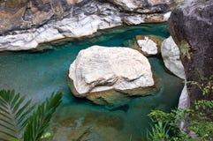 Marble Rock, Taiwan Stock Photo