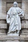 Marble roman statue Royalty Free Stock Image