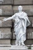 Marble roman statue: Cicerone Stock Photo