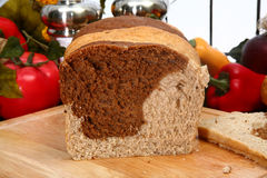 Marble Rye Bread Royalty Free Stock Photos