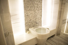 Marble sauna. Turkish sauna;hamam  interior scene Royalty Free Stock Photos