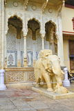Elephant Sculpture Of City Palace Royalty Free Stock Images