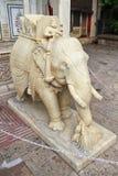 Elephant Sculpture Of City Palace Stock Photos