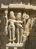 Indian sculpture. Royalty Free Stock Image