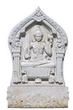 Marble sculpture of Vishnu Royalty Free Stock Images