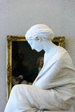 Marble sculpture of a woman, the State Hermitage Stock Images