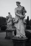 Marble sculptures. Peterhof, St. Petersburg stock image