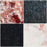 Marble set Stock Photography