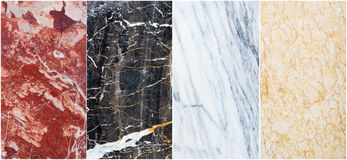 Marble set Royalty Free Stock Photos