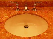 Marble Sink Stock Image