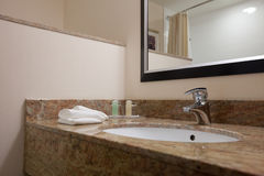 Marble sink Royalty Free Stock Photo