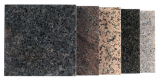 Marble slabs Stock Image