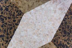 Marble snone floor mosaic pattern Stock Image