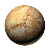 Marble sphere Royalty Free Stock Photography