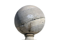 Marble sphere Stock Images