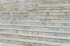 Marble stair - Outdoor modern architecture Stock Photography