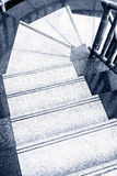 Marble stair steps Stock Photo