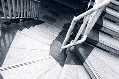 Marble stair steps Stock Photos