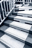 Marble stair steps Stock Images