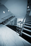 Marble staircase Royalty Free Stock Photography
