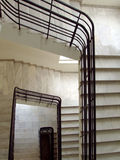 Marble staircase Stock Images