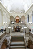 Marble staircases at Vienna University, Austria Royalty Free Stock Photography