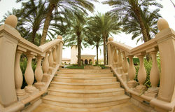 Marble stairs Royalty Free Stock Photography