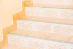 Marble stairs. In front of the house Royalty Free Stock Photos