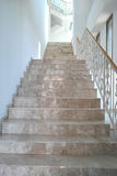Marble stairs inside hotel Royalty Free Stock Images