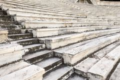 Marble stairs. Of panathenaic stadium Stock Photography