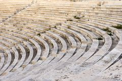 Marble stairs. Of panathenaic stadium Royalty Free Stock Photos