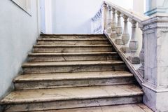 Marble stairway Royalty Free Stock Image