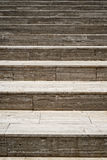 Marble stairways Royalty Free Stock Images