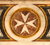 Marble star and cam Royalty Free Stock Images