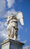 Marble statue of angel of Bernini, Rome Royalty Free Stock Photos