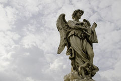 Marble statue of angel Stock Photography